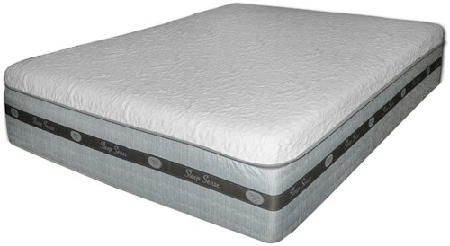 Spring Air SS Hybrid Amelia Twin Extra Long Cool Gel Hybrid Mattress and 4M Adjustable Base