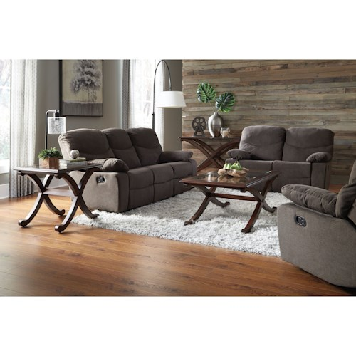 Standard Furniture 418 Reclining Living Room Group