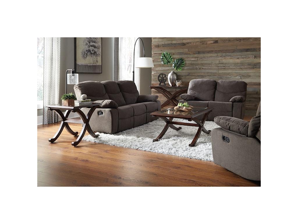 Standard Furniture 418Reclining Sofa & Loveseat