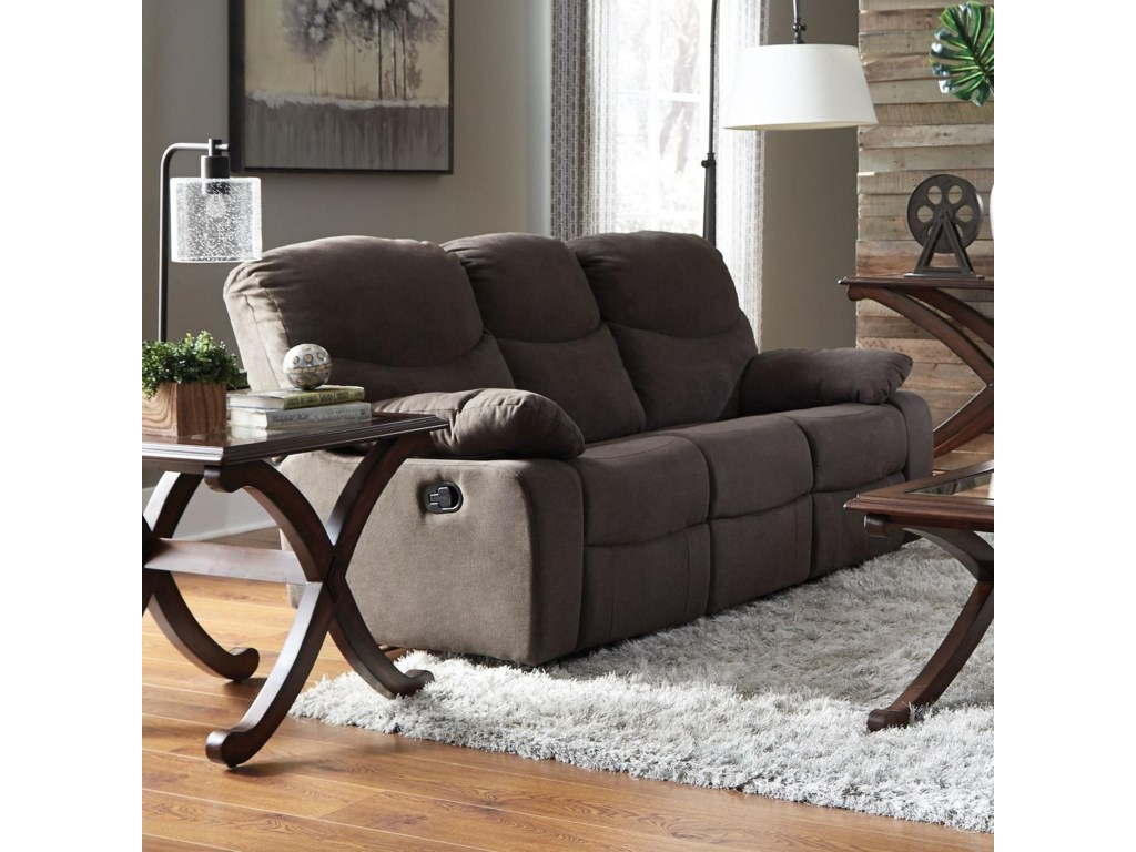 Standard Furniture 418Reclining Sofa