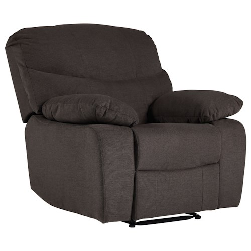 Standard Furniture 418 Recliner with Pillow Arms