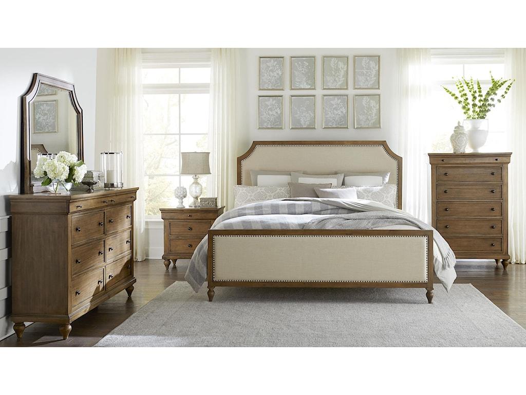 Standard Furniture BrusselsKing Bedroom Group