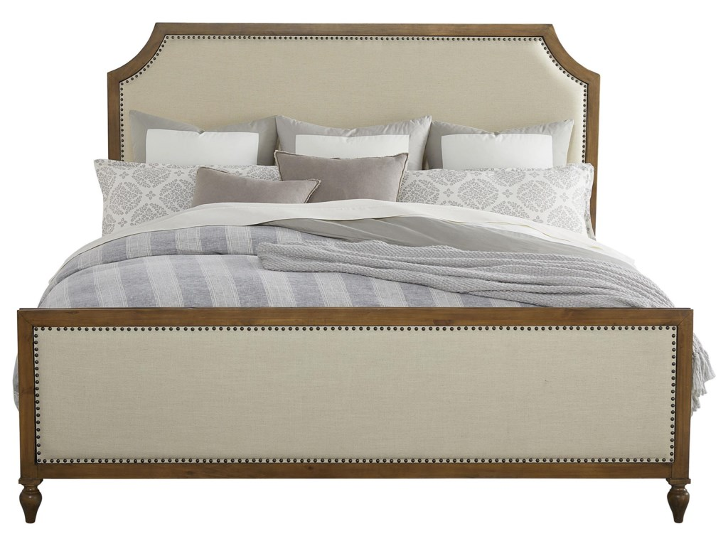 Standard Furniture BrusselsQueen Upholstered Panel Bed
