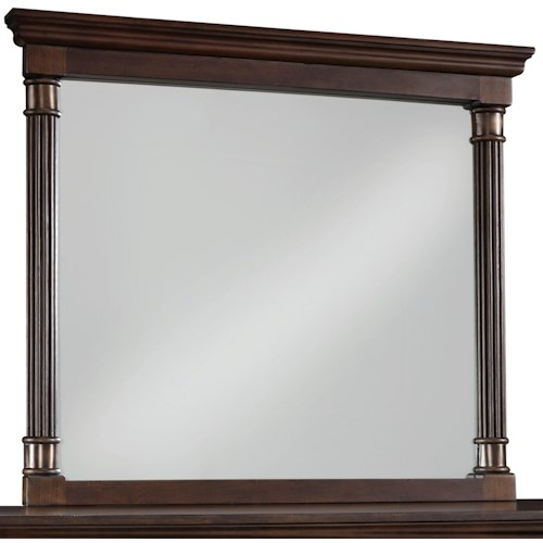 Standard Furniture Oxford Transitional Mirror