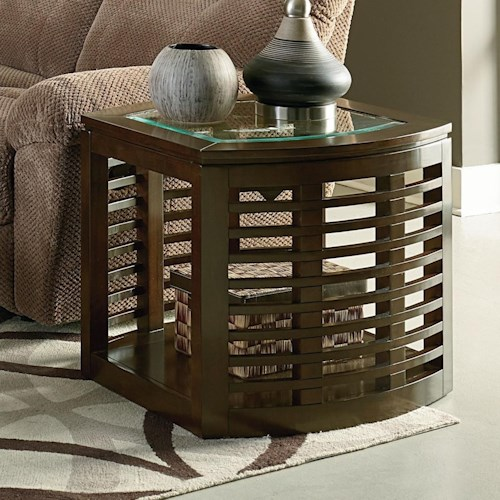 Standard Furniture Accolade Contemporary End Table