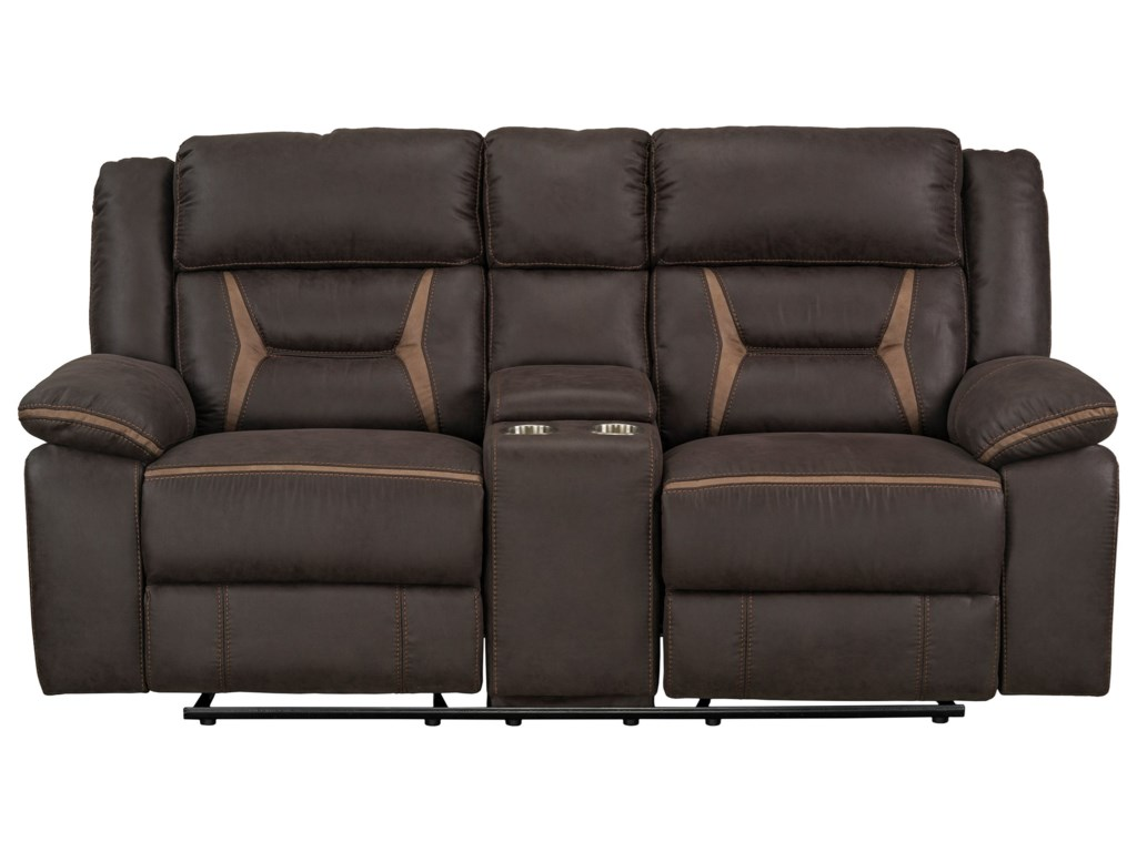 Standard Furniture AcropolisManual Glider Reclining Loveseat
