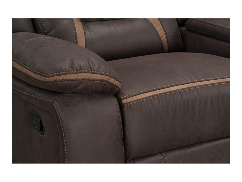Standard Furniture AcropolisPower Glider Reclining Loveseat
