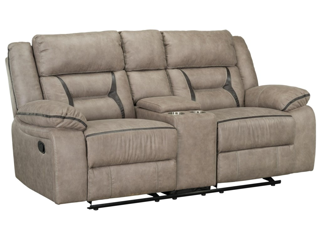 Standard Furniture AcropolisPower Glider Reclining Loveseat