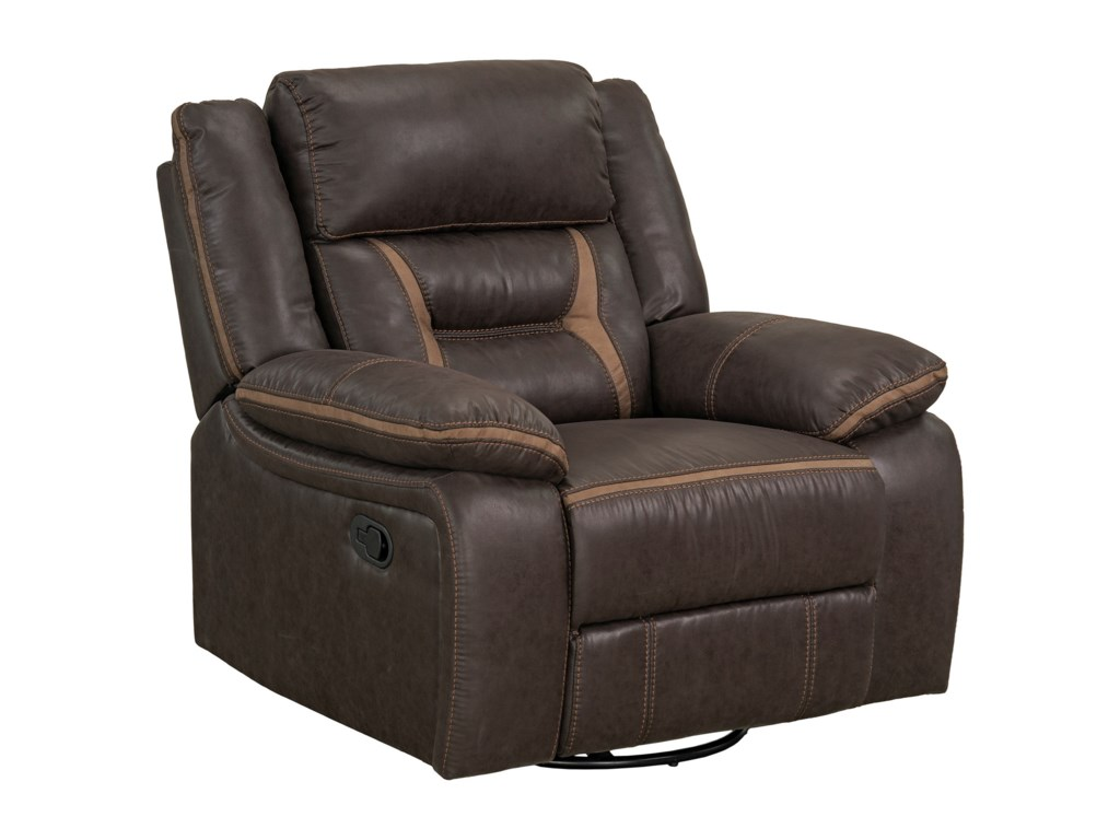 Standard Furniture AcropolisManual Glider Swivel Recliner