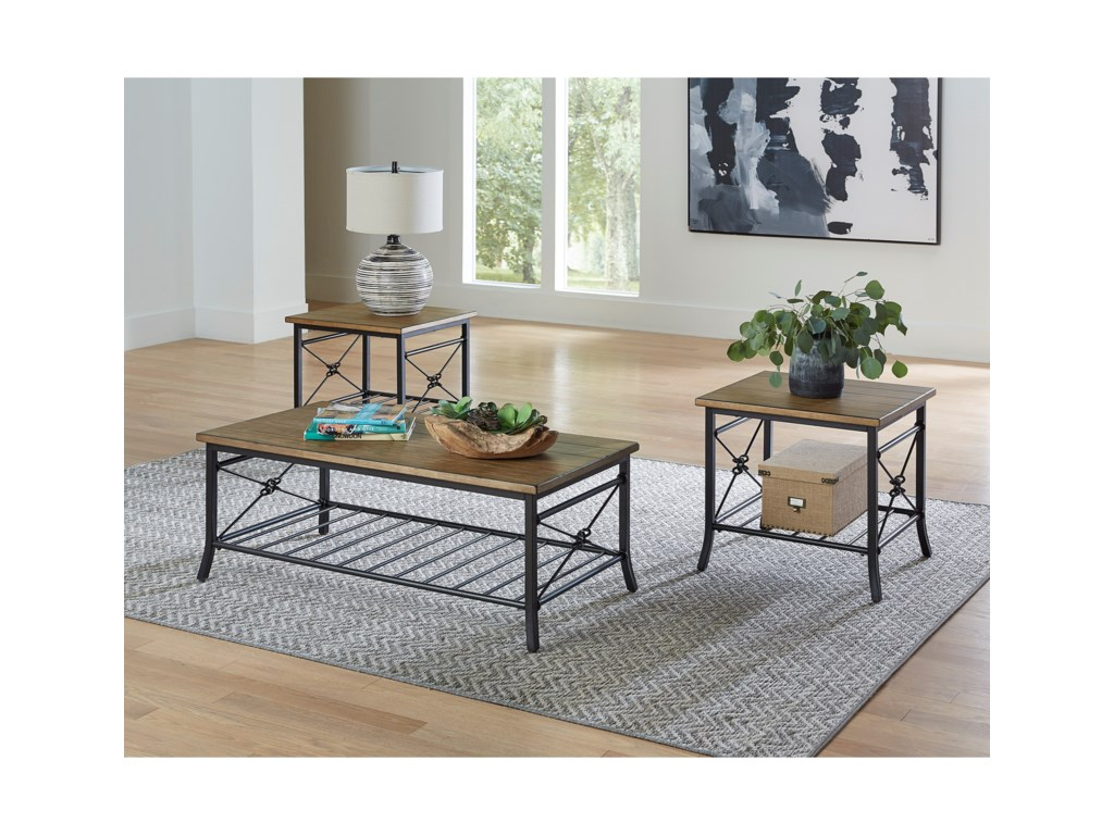 Standard Furniture Ainsley LightAccent Table Pack