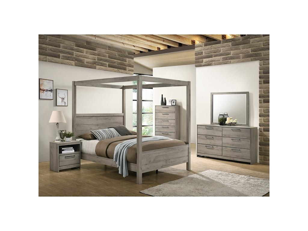 Standard Furniture AlixDresser + Mirror Set