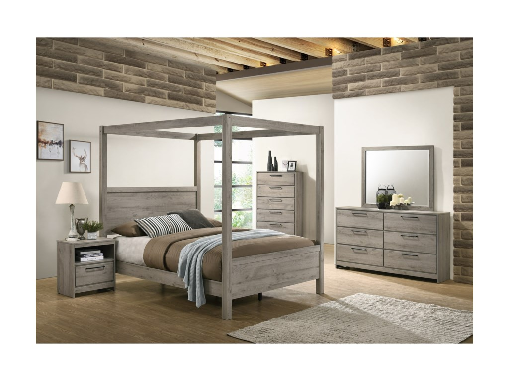 Standard Furniture AlixFull Canopy Bed