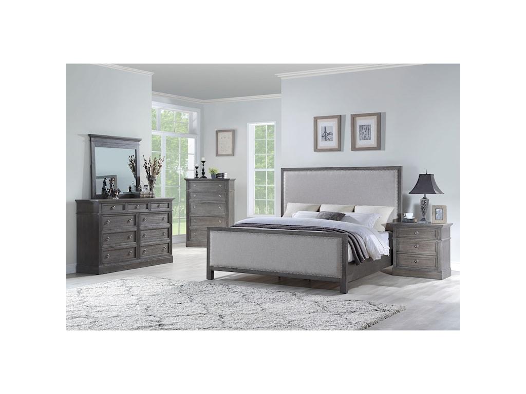 Standard Furniture AmberleighDresser and Mirror Combination