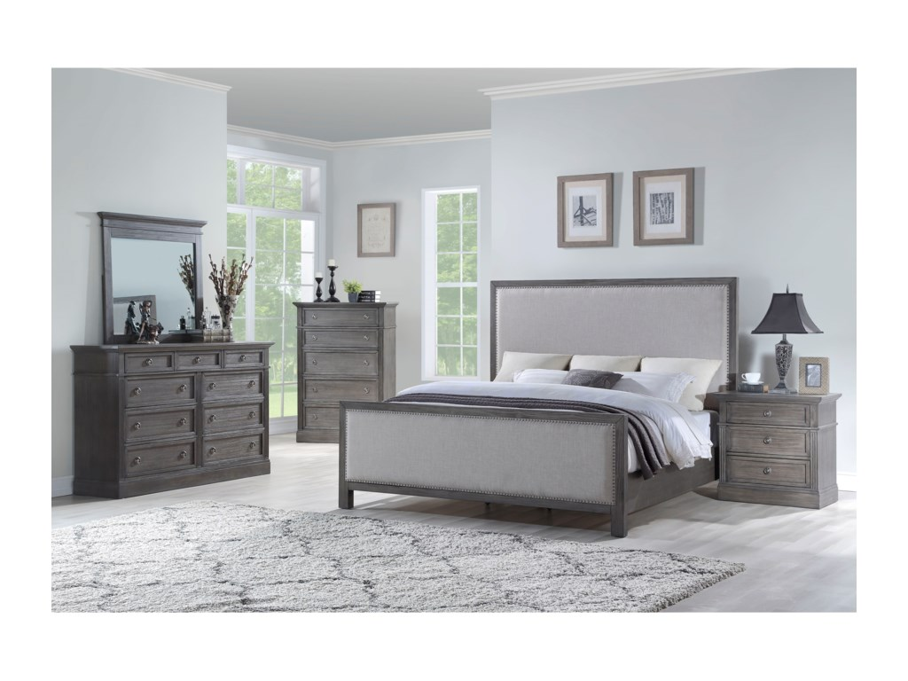 Standard Furniture AmberleighQueen Panel Bed