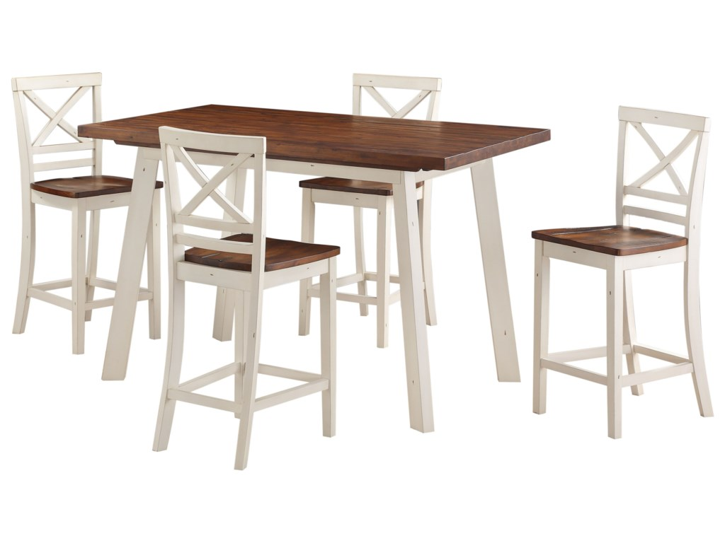 Standard Furniture AmeliaCounter Height Table and Chair Set