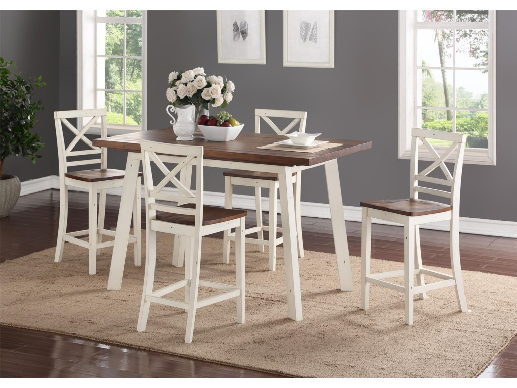 Standard Furniture AmeliaCounter Height Table Set