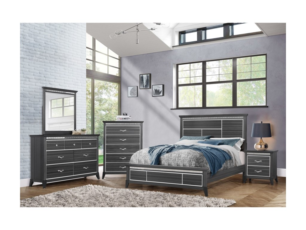 Standard Furniture AnaheimKing Panel Bed
