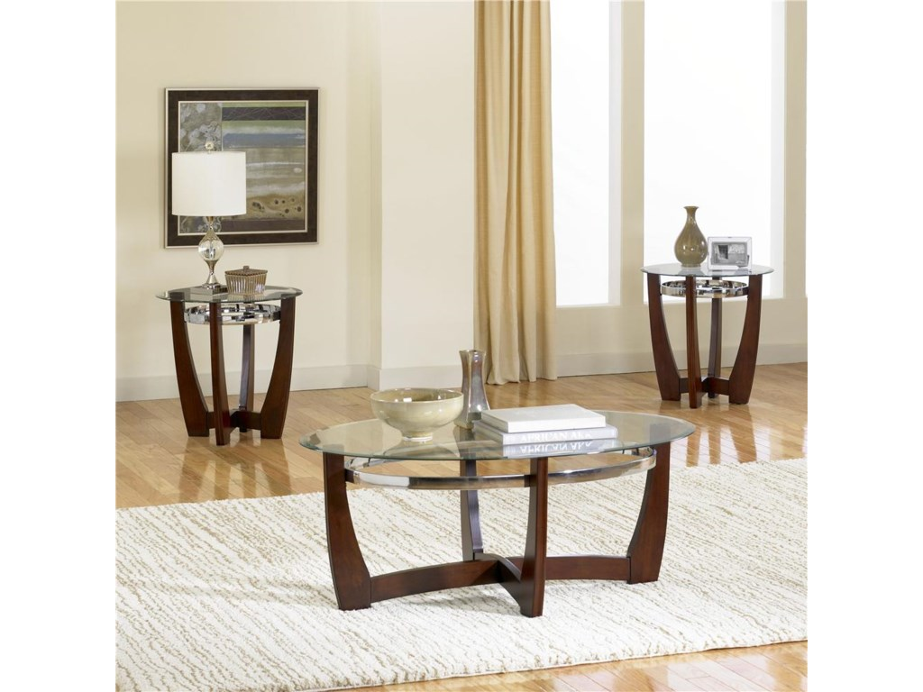 Standard Furniture Apollo3-Pack With Cocktail Table and End Tables
