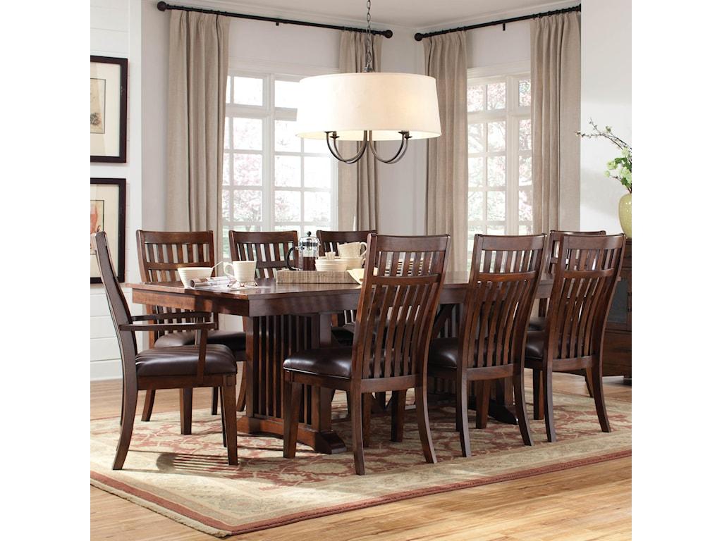 Standard Furniture Artisan Loft9 Piece Table & Chair Set
