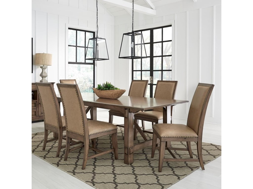 Standard Furniture Aspen7-Piece Table and Chair Set