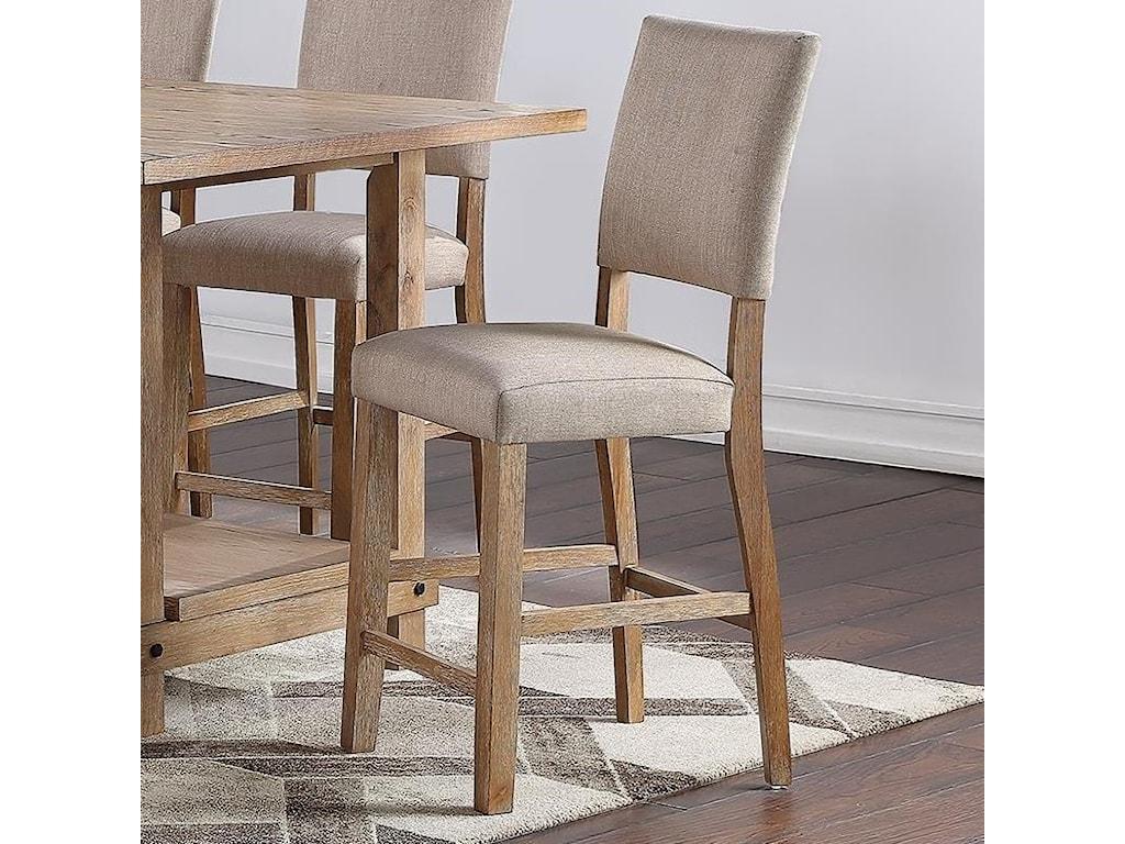 Standard Furniture Aubrun HoneyCounter Height Dining Chair 2-Pack