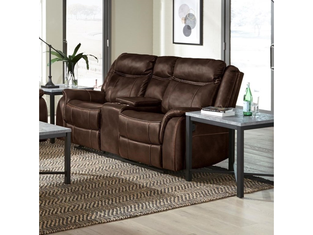 Standard Furniture AvalonManual Reclining Gliding Loveseat