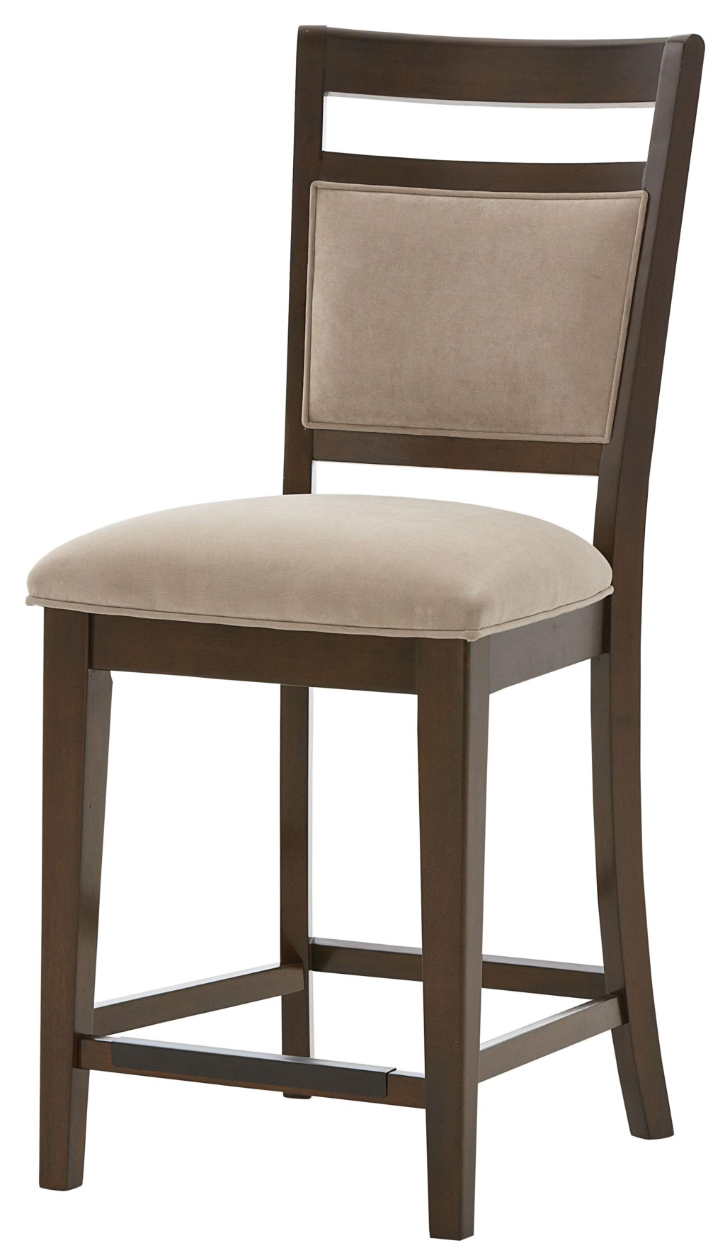 standard furniture avion counter height chair with upholstered