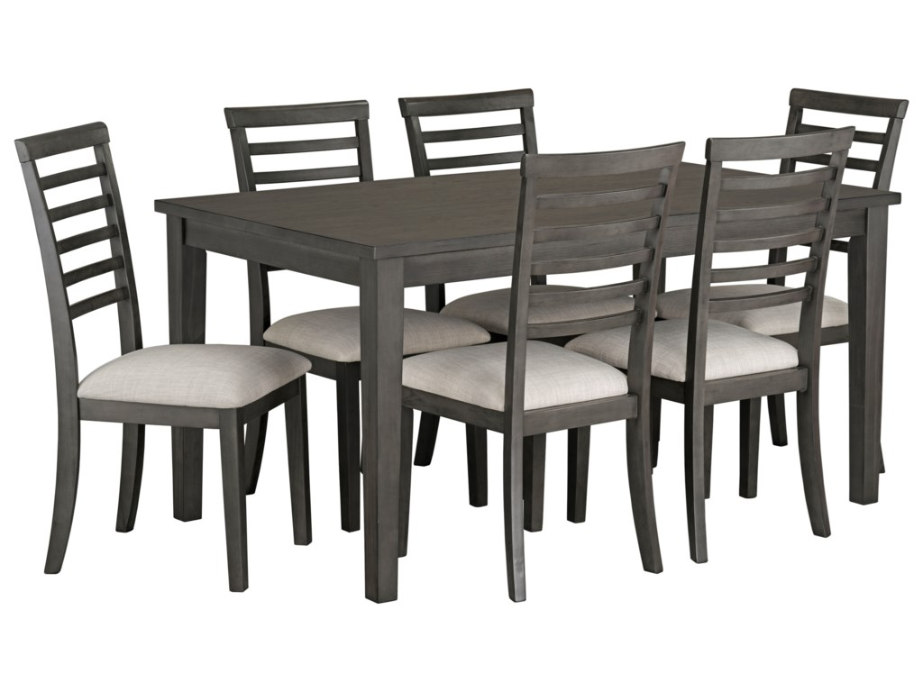 Standard Furniture Baggio7-Piece Dining Table & Chair Set