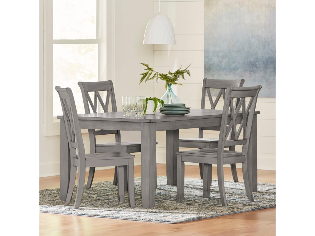 Standard Furniture Baldwin5 Piece Table and Chair Set