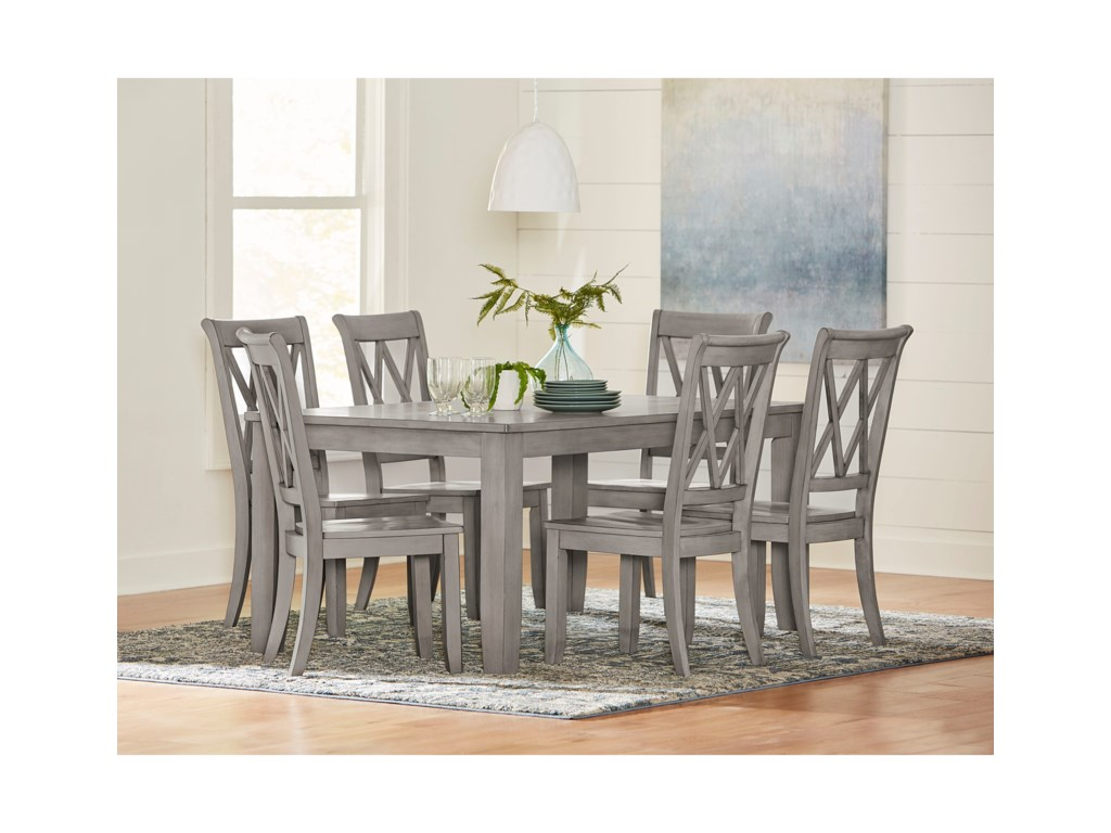 Standard Furniture Baldwin7 Piece Table and Chair Set