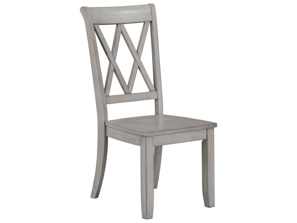 Standard Furniture BaldwinX-Back Dining Side Chair