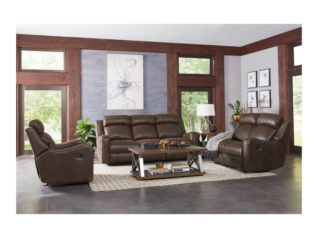 Standard Furniture BankstonPower Reclining Living Room Group