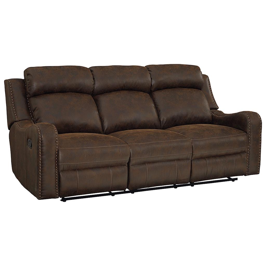 Standard Furniture Bankston Traditional Power Reclining Sofa With  ~ Traditional Reclining Sofa