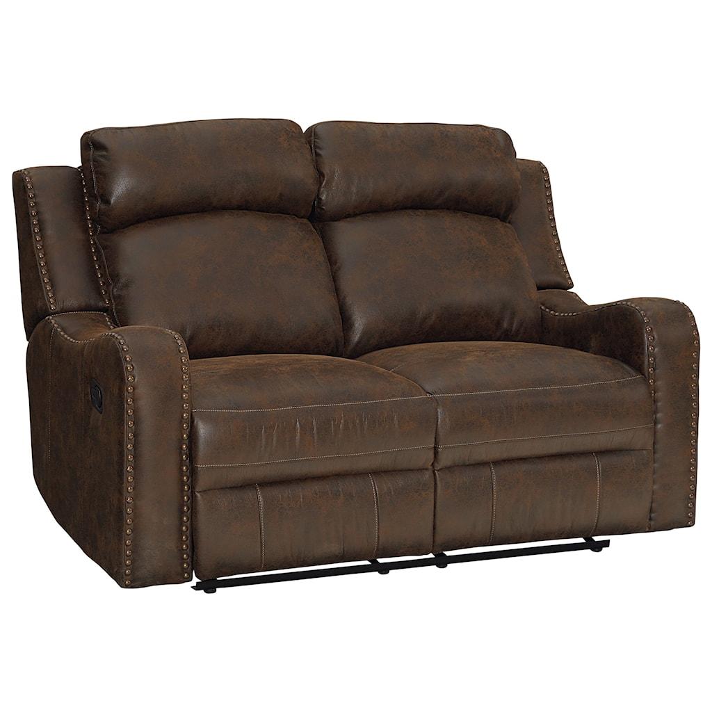 Standard Furniture Bankston 4148631 Traditional Power Reclining  ~ Traditional Reclining Sofa