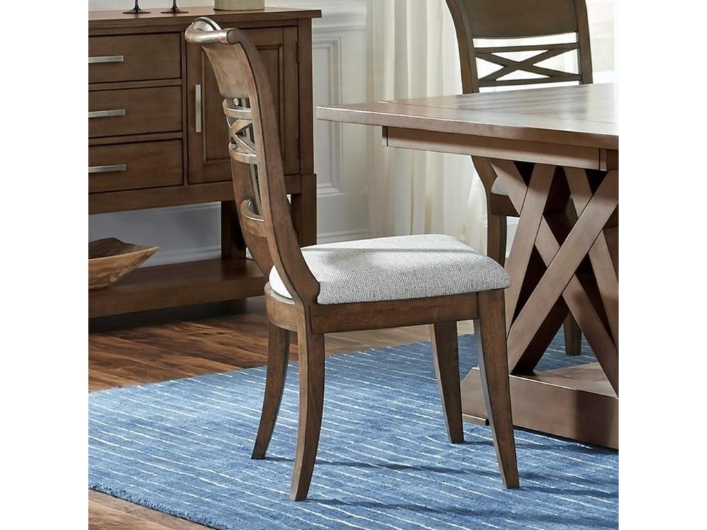 Standard Furniture Beckman BrownDining Side Chair 2-Pack