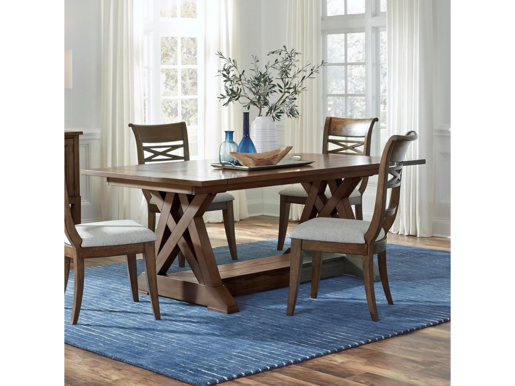 Standard Furniture Beckman BrownDining Table