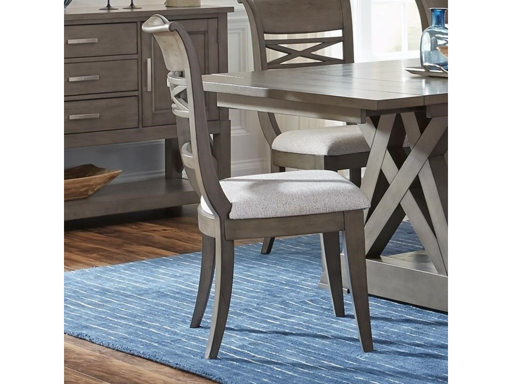 Standard Furniture Beckman GreyDining Side Chair 2-Pack