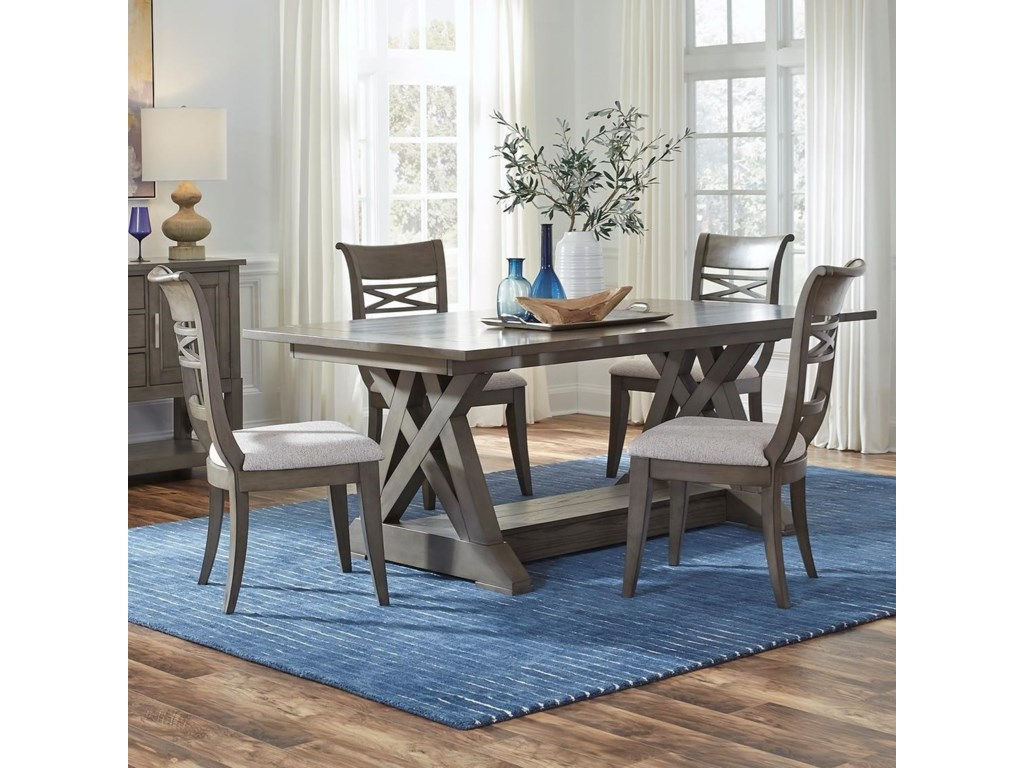 Standard Furniture Beckman Grey5-Piece Table and Chair Set