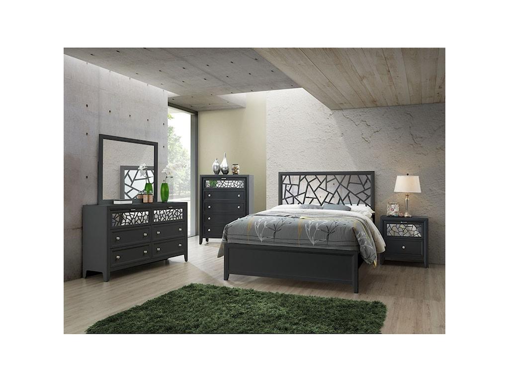 Standard Furniture BellamyKing Panel Bed