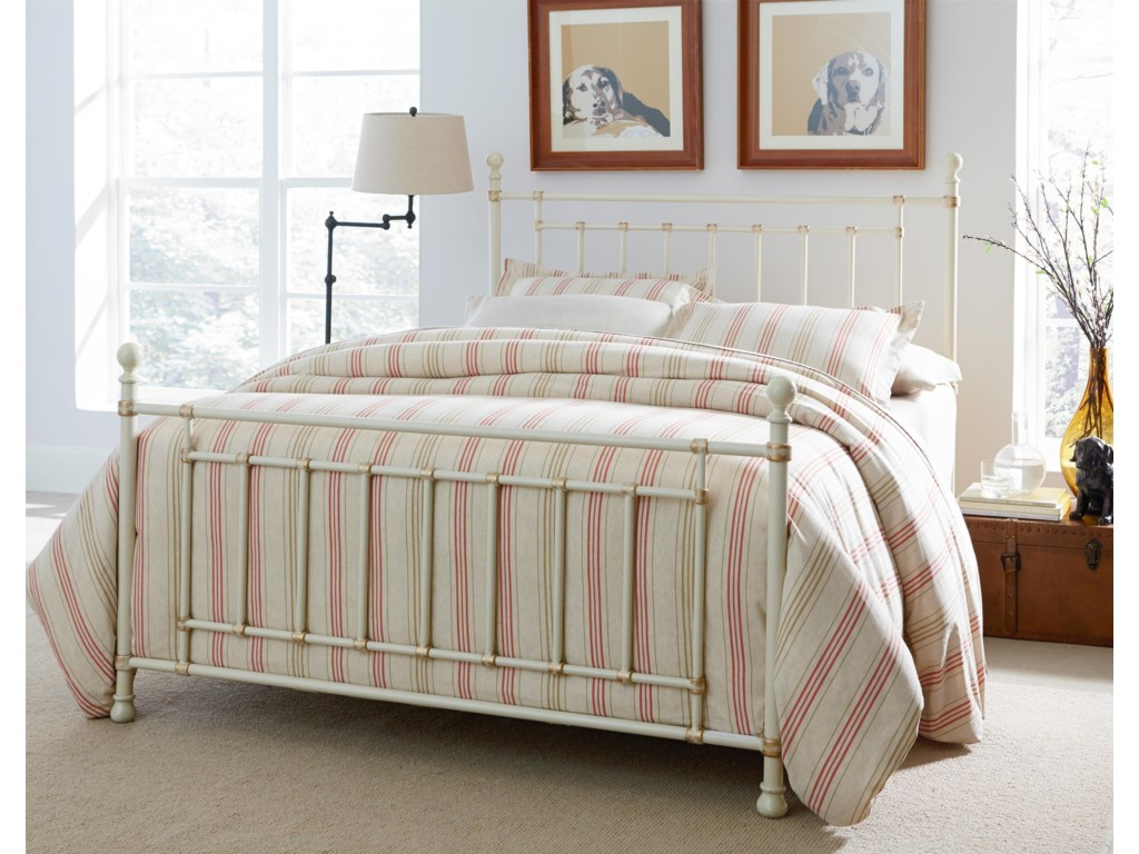Standard Furniture Bennington WhiteKing Bed