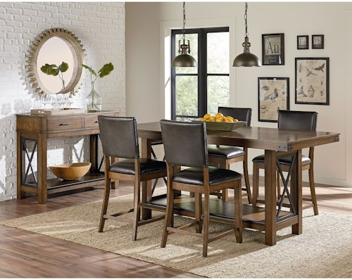 Standard Furniture Benson Casual Dining Room Group