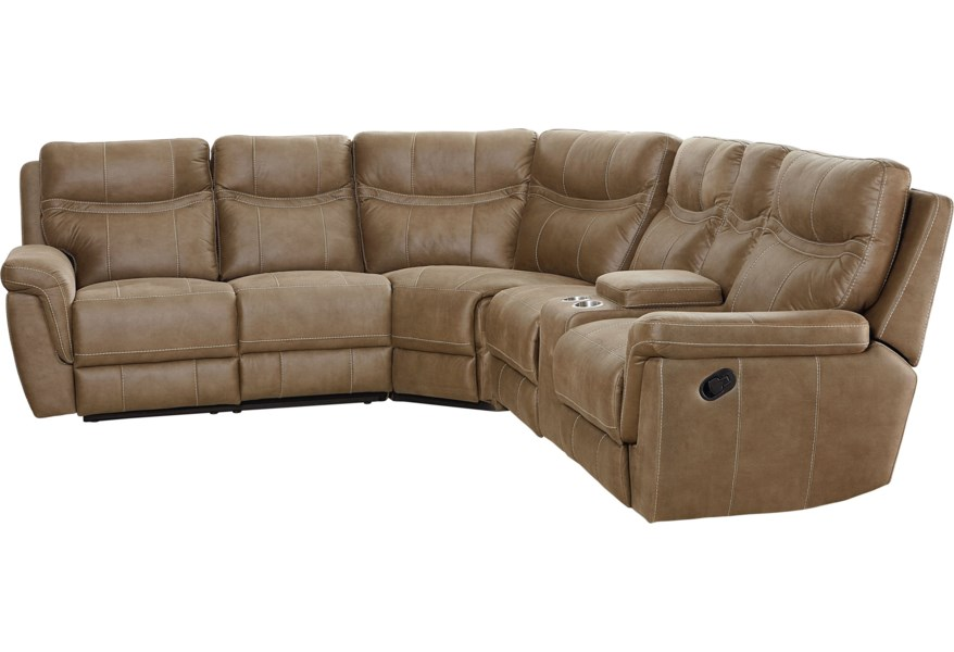 Boardwalk Contemporary Reclining Sectional by Standard Furniture at  Standard Furniture