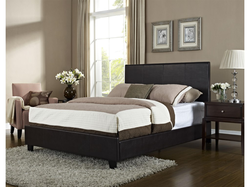Standard Furniture BoltonKing Upholstered Bed