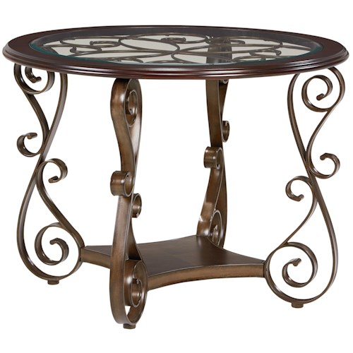 Standard Furniture Bombay Round Counter Height Table