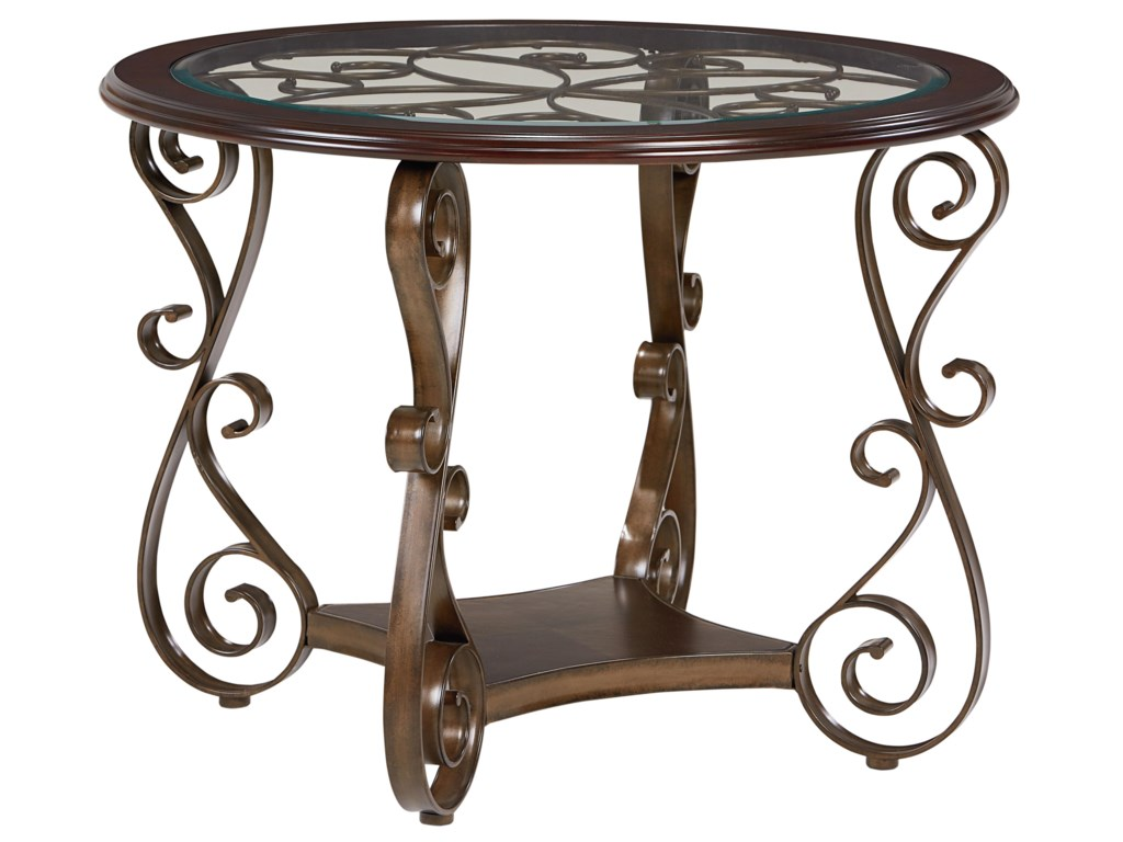 Standard furniture bombay round counter height table miskelly standard furniture bombaycounter height table watchthetrailerfo