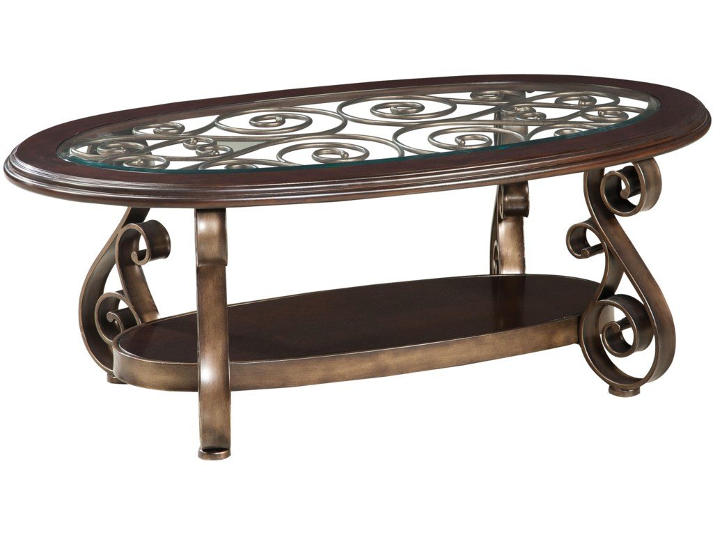 Standard Furniture BombayOld World Cocktail Table