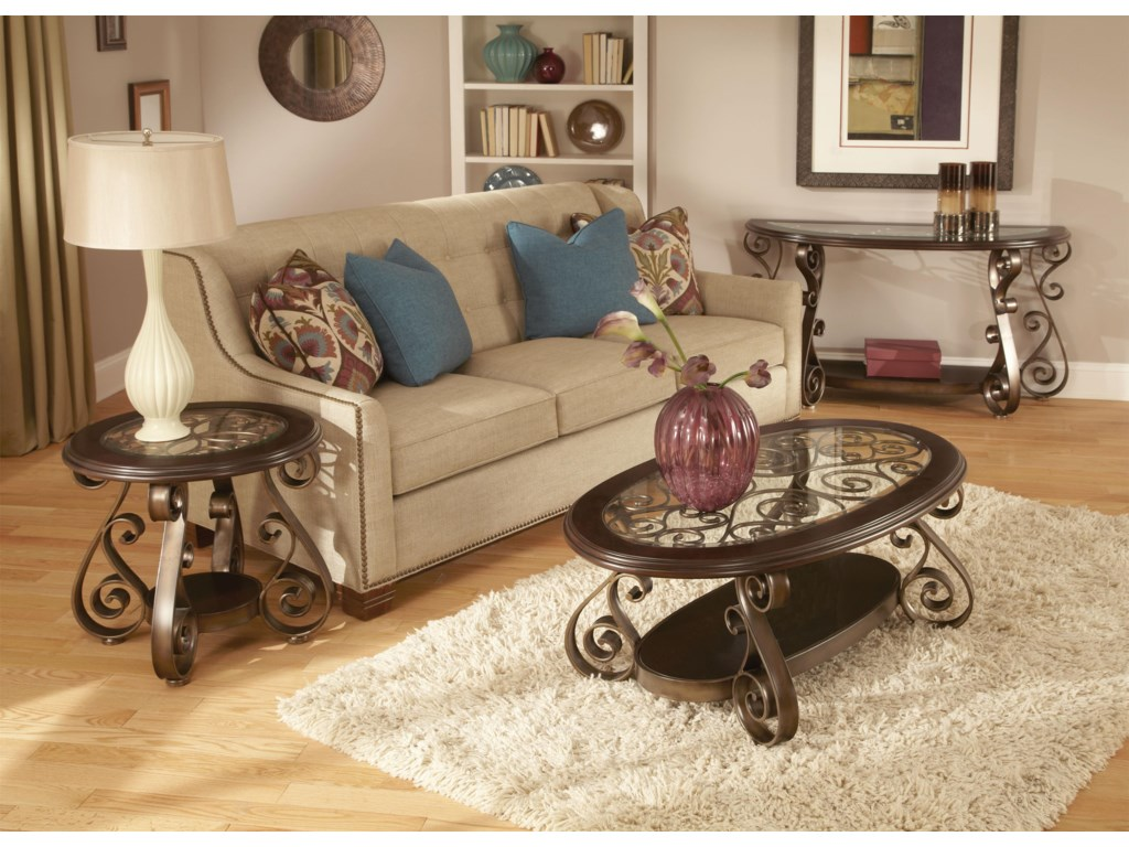 Standard Furniture BombayOld World End Table