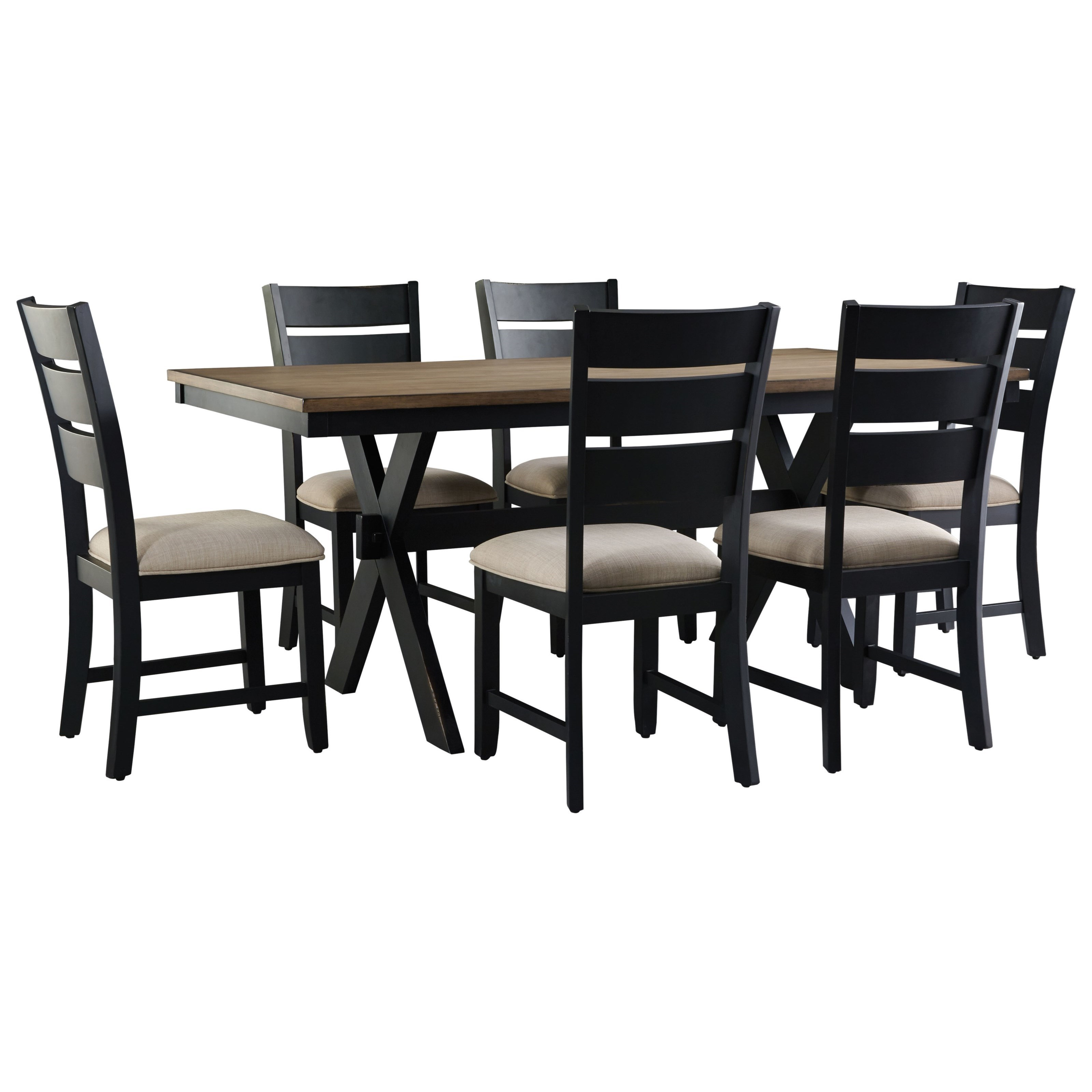 Captivating Standard Furniture Braydon Dining Transitional Table And Chair Set