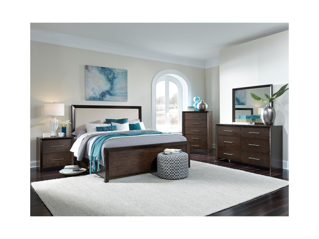 Standard Furniture BrentwoodCal King Panel Bed