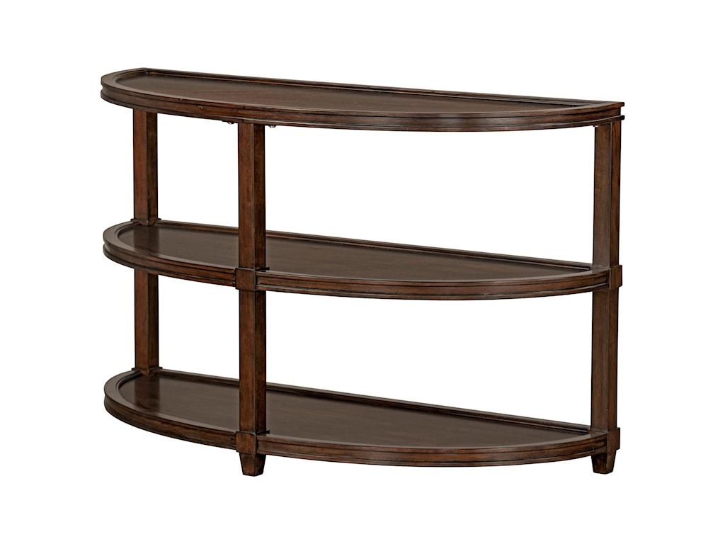 Standard Furniture BryantDemilune Sofa Table